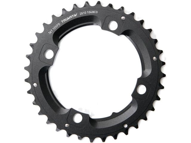 SRAM MTB Plateau 2x10 vitesses sans goupille, matte black
